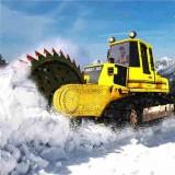 模拟铲雪车