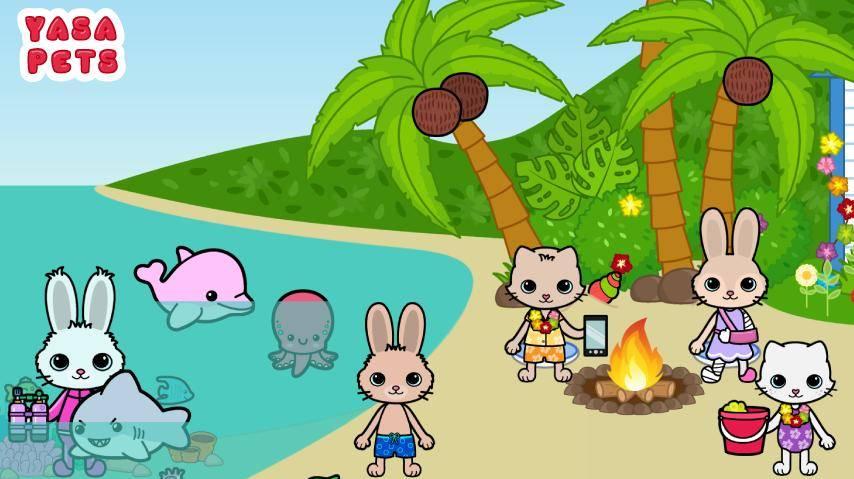 亚萨宠物岛安卓版 V1.0