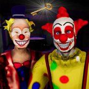 逃离可怕的双胞胎小丑