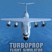涡轮螺旋桨飞机模拟器3D