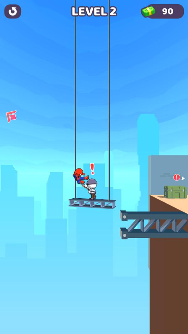 蜘蛛侠飞钩跑酷安卓版 V1.0