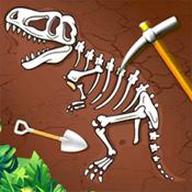 考古挖化石发现
