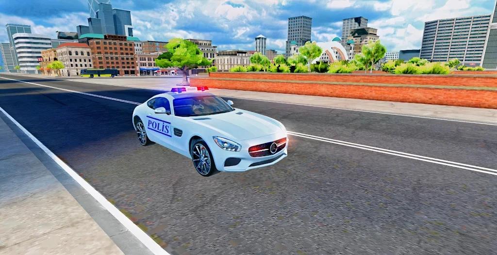 梅赛德斯警车模拟器2021安卓版 V1.0