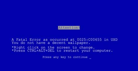 关于CPU超频导致电脑蓝屏的问题
