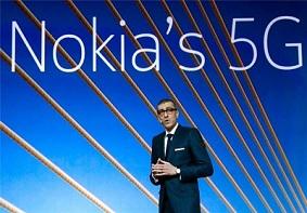 诺基亚:已经获得37份5G商业合同,将会首批推出5G网络